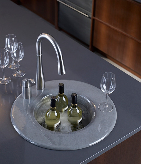 kohler cordial entertainment sink New Kohler Entertainment Sink Cordial   innovative cast iron design