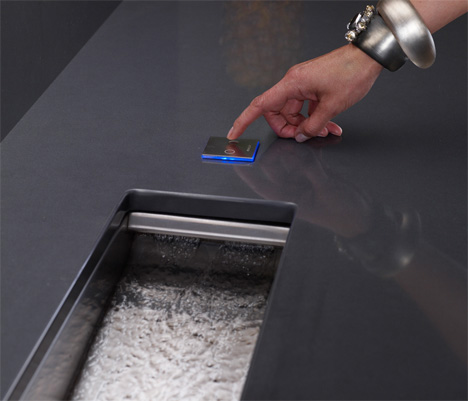 Kohler Crevasse Prep Sink - integrated garbage disposal and touch ...
