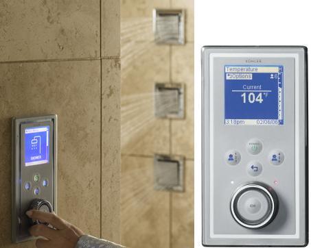 Kohler DTV Custom Showering Experience