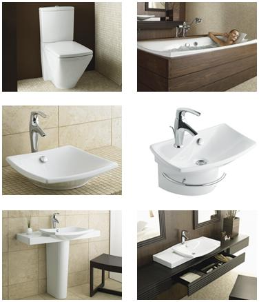 kohler escale bathroom suite Kohler Escale Suite   new bathroom and powder room suite   a distinctive design