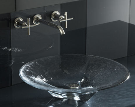 Kohler Glass Lavatory collection – the new Nature's Chemistry lavatories