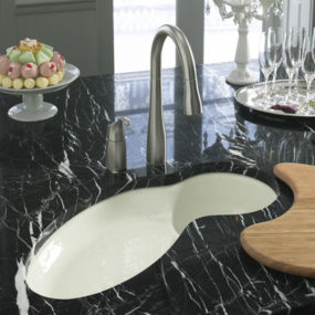 Kohler Fete kitchen sink – a perfect new island sink
