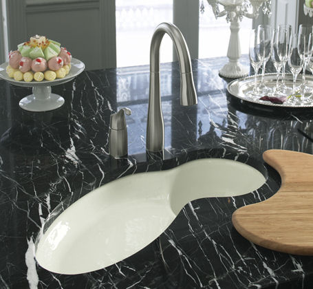 kohler fete kitchen sink Kohler Fete kitchen sink   a perfect new island sink