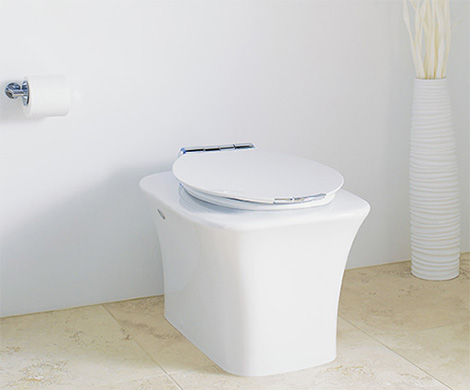 kohler fountainhead toilet Fountainhead Toilet from Kohler with Eco friendly Flush
