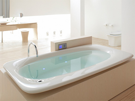 Kohler Fountainhead Vibracoustic Bath Kohler Vibrating Bath Fountainhead  VibrAcoustic Wash Away Your Stress!