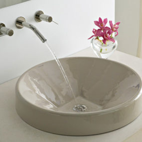Cast Iron Vessel from Kohler – new Inscribe Wading Pool Lavatory