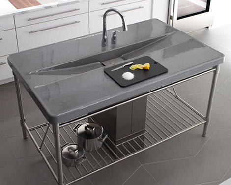 kohler island sink iron occasion 1 Integrated Sink from Kohler   new Iron/Occasions