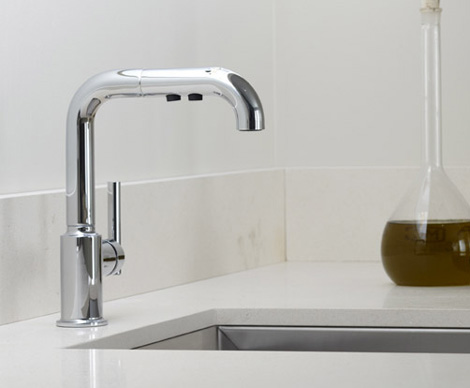 Delightful Kohler Kitchen Faucet U2013 New Contemporary Purist
