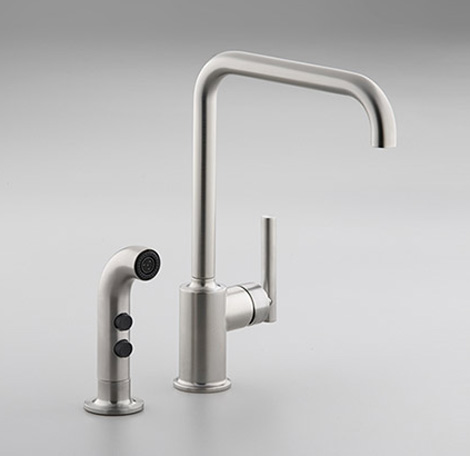 kohler kitchen faucet purist 2 Kohler Kitchen Faucet – new contemporary Purist