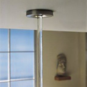 Laminar wall-mount or ceiling-mount bath filler from Kohler