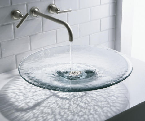 Kohler Glass Lavatory Collection The New Nature S