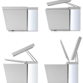 Kohler Numi Toilet is motion activated, plays music, washes, dries, deodorizes, glows and warms your feet