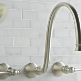 Kohler Revival faucet – the new wall-mount lavatory faucet