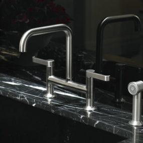 Kohler Torq bridge faucet – the new kitchen sink faucet