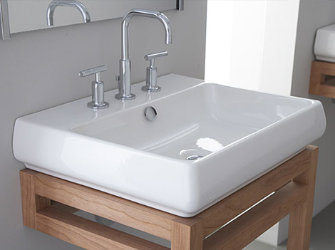countertop lavatory from kohler new vessel lavatories range