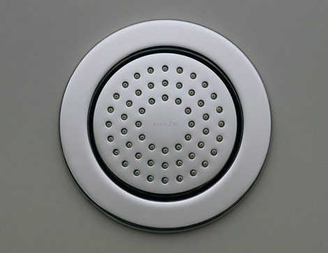 kohler watertile round polished chrome