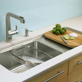 Kohler Wet Surface Kitchen Sink – new single-basin sinks Prologue