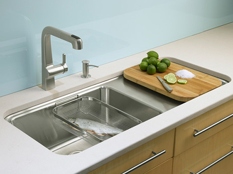 Kohler Wet Surface Kitchen Single Basin Sink New Sinks