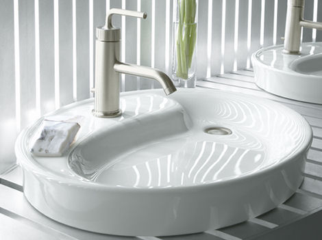 kohler yin yang wading pool lavatory