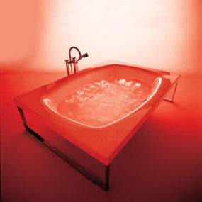 Italian freestanding bathtub from Kos – the Kaos tub
