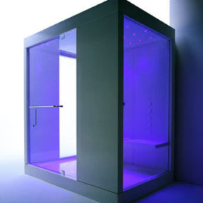 Shower Cabin from Kos – Kosmic1 and Kosmic2 chromatherapy cabins