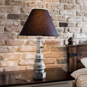 Industrial Table Lamps by Kozo: Little Mona and Fat Mona