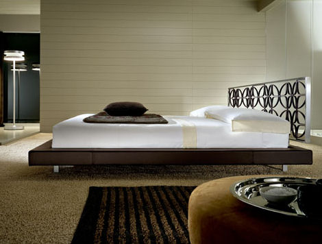 Contemporary Bed from Kreaty – the Michel bed