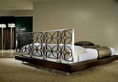 kreaty michel headboard Contemporary Bed from Kreaty   the Michel bed