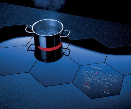 kuppersbusch electric cooktops honeycomb Electric Cooktops by Kuppersbusch   built in honeycomb cooktop