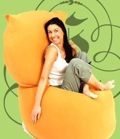 Kush Kush bean bag chair – beans bring luxury!