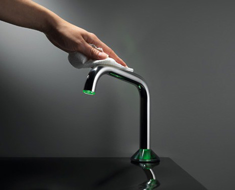 kwc faucet uso 3 Semi Automatic Faucet by KWC   new USO touch faucet