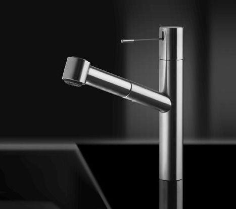 kwc ono kitchen faucet New KWC Ono kitchen faucet   minimalist expression