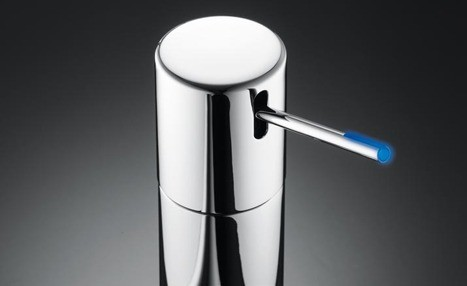 kwc ono lightpin faucet KWC Ono Faucet Innovations – for a more intelligent bathroom