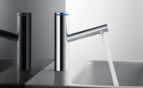 kwc ono touchlight faucet KWC Ono Faucet Innovations – for a more intelligent bathroom