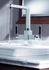 New KWC Qbix-Art faucets – Art Deco influence