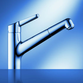 kwc wamas kitchen faucet KWC Wamas Bathroom and Kitchen Faucet   the new faucet line