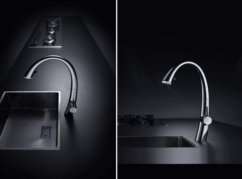 Kwc Zoe A Beautiful Kitchen Faucet With Light