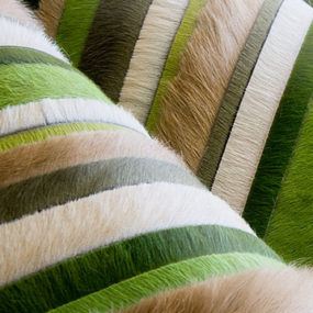 Luxury Cowhide Rugs – custom cowhide for contemporary interiors by Kyle Bunting