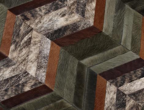 kyle bunting luxury cowhide rugs 4