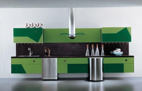 la cucina alessi geometrica kitchen