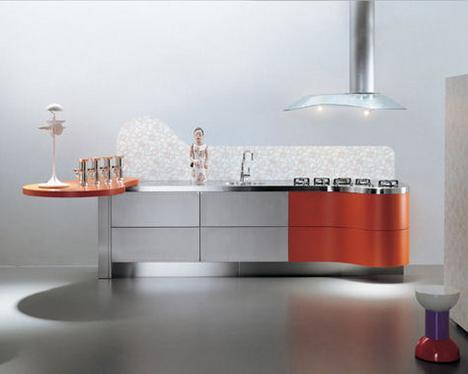 Modern Kitchens latest trend - La Cucina Alessi kitchens