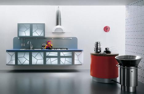 Modern Kitchens latest trend - La Cucina Alessi kitchens