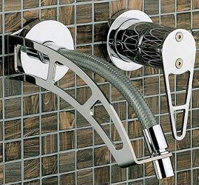Lacava's 'Frame' Faucet Line – unique Industrial style