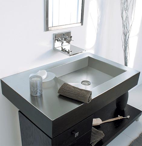 lacavareflectsingle Contemporary Washbasin from Lacava   new Reflection & Fountain washbasins