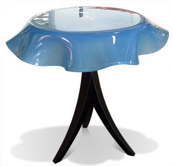 Giada Pedestal Table from LaDifference