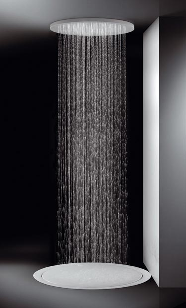 lagares shower head duc 3 Rain Showerheads from Lagares