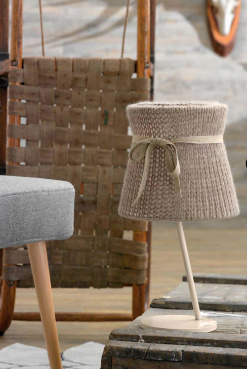 lamp miss wool doimo 1 Wool Lampshade Lamps by Doimo