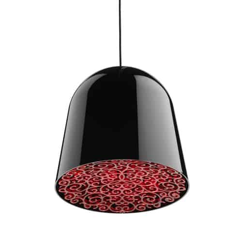 lamp with floral effect diffuser can can flos 1 Lamp With Floral Detail Diffuser   Can Can by Flos