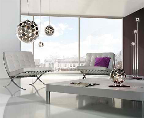 Modern Lamp From Lampnet New Ball Sfera Lamps Are From