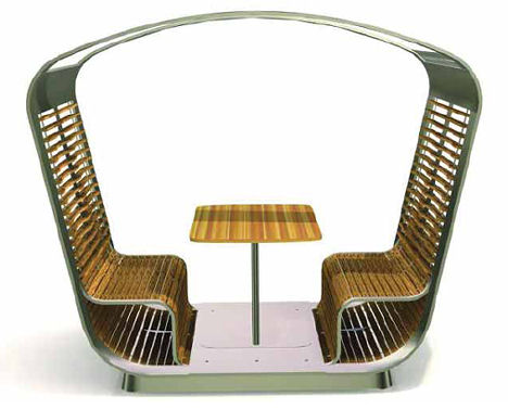 lane hamley wells capsule Outdoor Furniture by Jane Hamley Wells   the Capsule Turntable Room